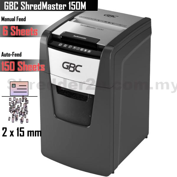 GBC ShredMaster autofeed 150M